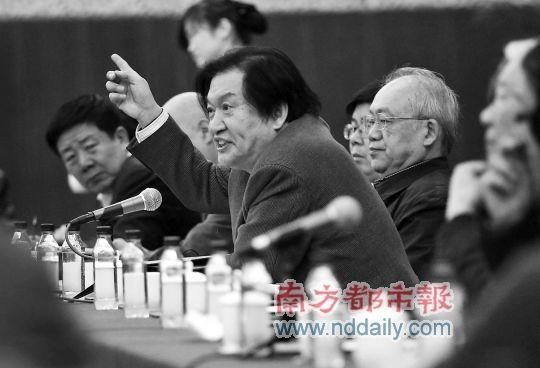 政协委员当面炮轰广电总局副局长