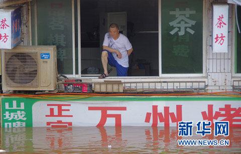 四川7月以来强降雨轮袭 今夜起大暴雨再来