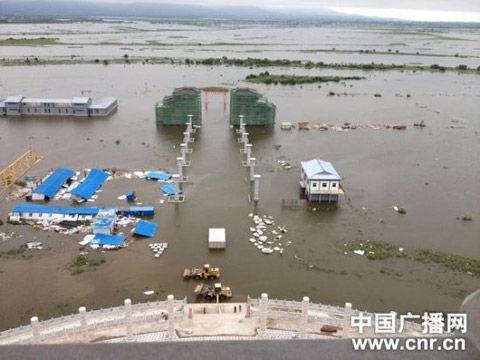 黑龙江黑瞎子岛遇史上最严重洪灾 过水面积超9成