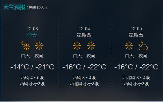抚远县今后三天预报