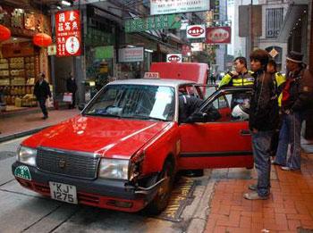 去年香港的士投诉飙升10%
