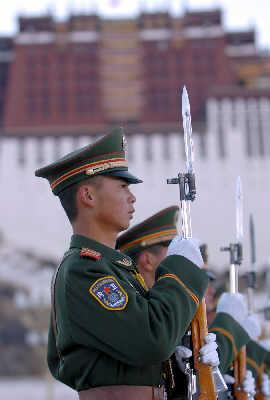 中国武警军人卡通