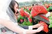 新人在公墓办婚礼