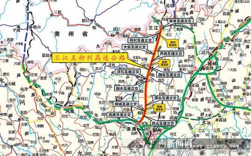 广西柳州市融安地图