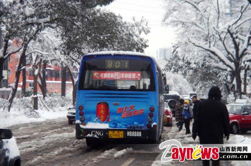 801往返于太原公交童星幼儿园和建南汽车站