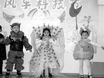 图文:宝宝时装秀图片