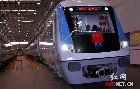 武汉地铁南车株机公司造 系我国首列低碳静音城轨车辆