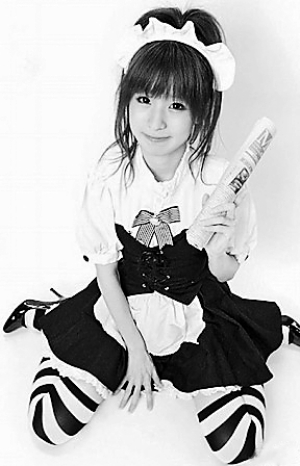超可爱按摩女今田奈央.人民网照片