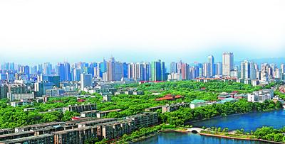 """长沙芙蓉区经济发展""""富贵逼人"""""""