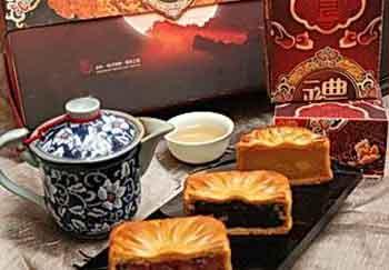 台湾饭店业研发新口味月饼 欲抢占中秋市场