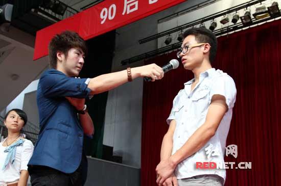 20岁男孩成创业富翁长沙巡讲为90后正名
