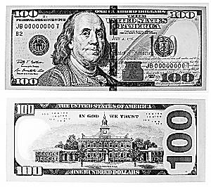 新版100元美钞_新版100元美钞正反面.