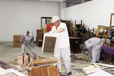 链接   废旧木家具再利用 燃烧或二次加工   废旧木质家具的