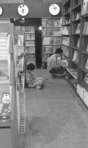 蹭书客遭逐怒投诉书店诉苦实属无奈