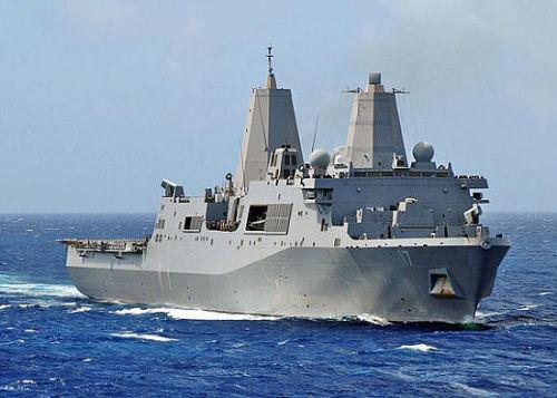 第7艘圣安东尼奥级船坞登陆舰正式交付美军