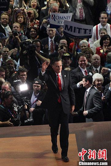 """罗姆尼称奥巴马支持者是依赖政府""""受害者"""""""