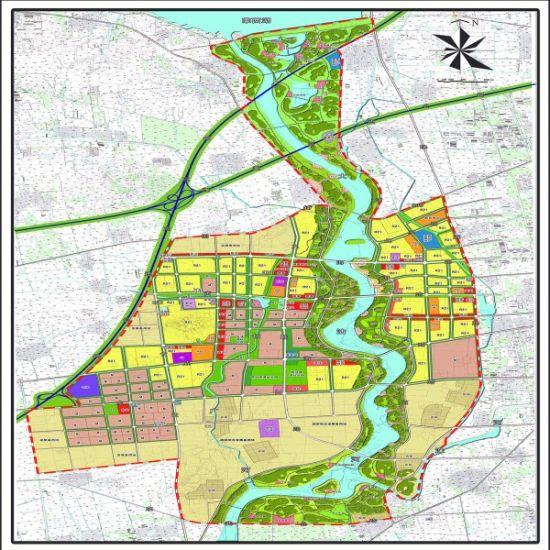 沽河   新城   规划图.