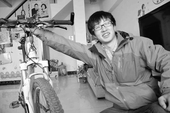 90后大学生骑行1993公里回家过年