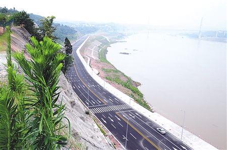 重庆:江津滨江大道鼎山至支坪段通车