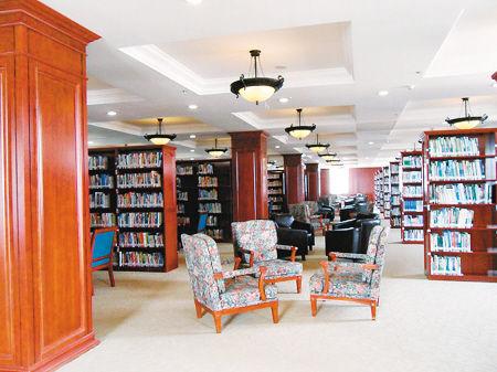 长春建筑学院图书馆堪比白宫