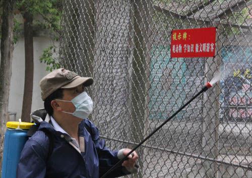 动物喝板蓝根 安庆动物园全面预防禽流感(图)