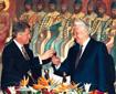 叶利钦和各国政要