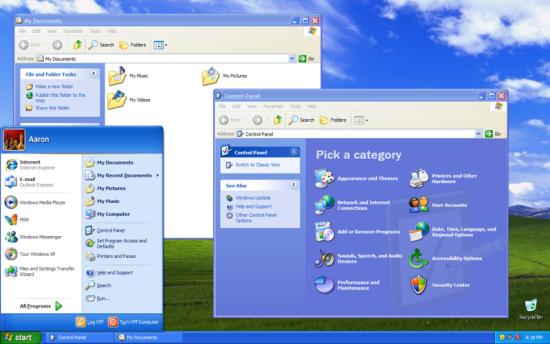 """4月8日,微软公司正式停止对操作系统""""视窗XP""""的支持。"""