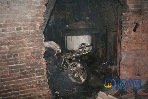 潘桥机油提炼厂油桶发生爆炸图片