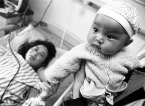 孩子未受伤是母亲最大的安慰。