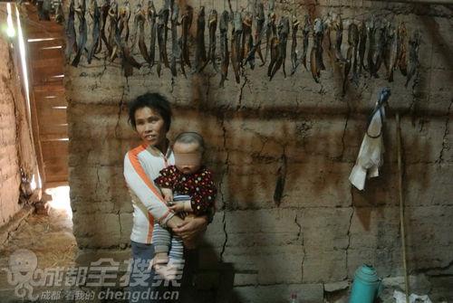 杜秀蓉在4个孩子出生的房间