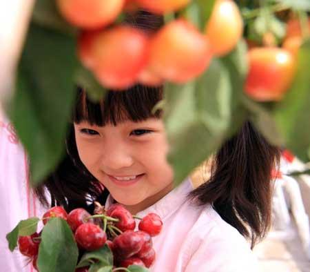 红裙女孩林妙可成《纽约时报》封面女郎(组图)