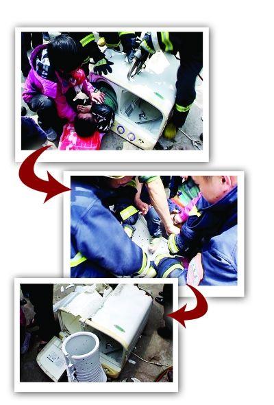 男童被救出。