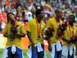 图文:巴西队获得铜牌