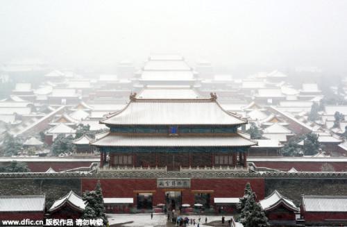 北方多地遭遇大范围降雪天气 雪后寒潮将袭