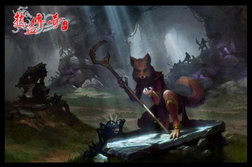 神秘的狐月山,神秘的狐族,早已激起热血勇士的探索欲望!