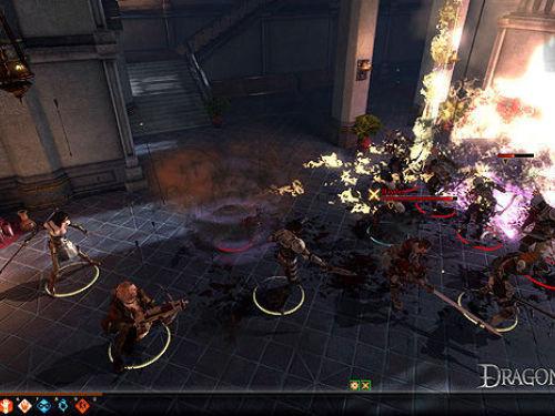 《龙腾世纪2》战斗截图