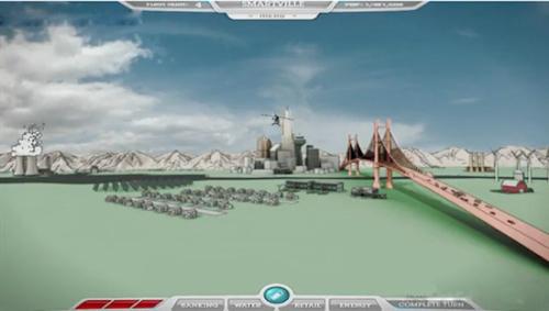 IBM的严肃类游戏《CityOne》