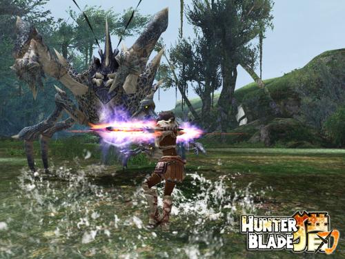 配图1:《猎刃》精美游戏画面