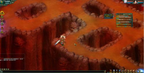 凌云窟,共有十多层,整个迷宫中以红色为主色调
