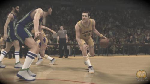 GC11:传奇再现 《NBA 2K12》大量游戏截图公布
