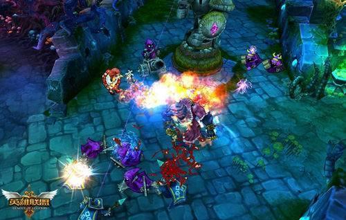 《英雄联盟》游戏画面截图