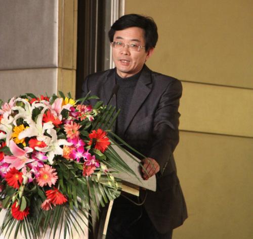 新闻出版总署科数司网络出版管理处处长张怀海发言