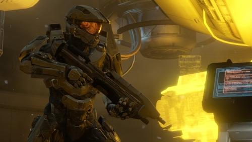 《光环4》战斗以及多人模式游戏画面