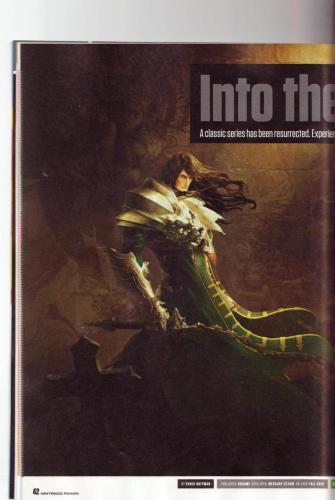 《恶魔城:暗影之王-宿命镜面》首批杂志图