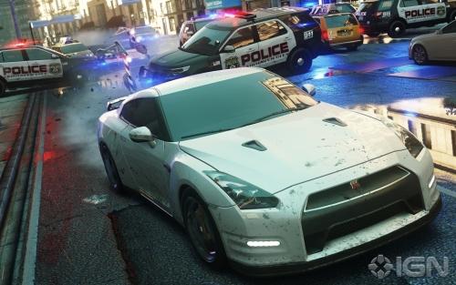 E3 2012《极品飞车17》首批截图