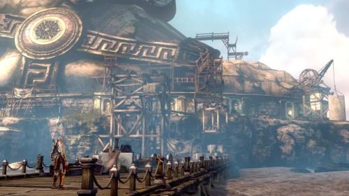 《战神:升天》E3 2012最新游戏画面