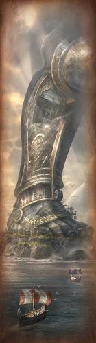 《战神:升天》最新邪魔CG图
