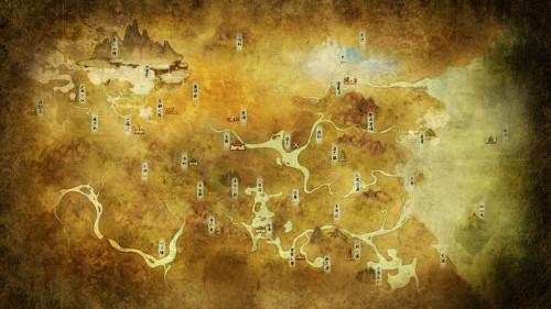 轩辕剑网游地图,大量熟悉地域