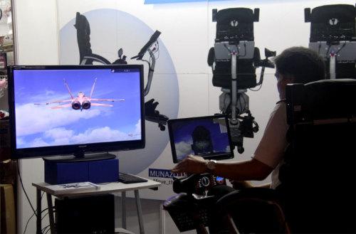 模拟飞行系统高端货现身TGS会场