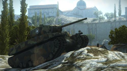 《坦克世界》最新游戏画面